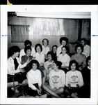 Fifteen Students Seated Together, Student Life ca. 1950s - 60s
