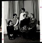 Jenckes Hall Staff, Student Groups, ca.1964