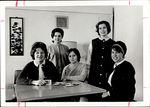 Third Floor White Hall Staff, Student Groups, ca.1964