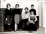 Wendel Hall Staff, Student Groups, ca. 1964
