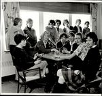 Thirteen Students and a Card Game, Student Life ca. 1964