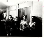 Students Laughing on the Phone, Student Life ca. 1966