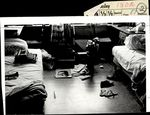 A Cluttered Dorm Room View , Student Life ca. 1964
