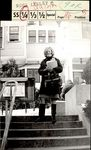 Mary Quinn On the Steps of White Hall, Student Life ca. 1966