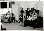 Ten Students in a Lounge, Student Groups ca. 1964