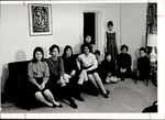 Ten Students and a Painting, Student Groups ca. 1964