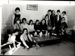 Fifteen Students Together in a Room, Student Groups ca. 1964
