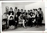 Twenty One Students In a Lounge, Student Groups ca. 1964