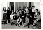 Nineteen Students Present in Grey Hall, Student Groups ca. 1964