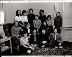 Fourteen Students Together in a Room, Student Groups ca. 1964