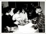 Students Gathering Breakfast, Student Life, ca. 1960s