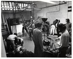Students Hang Out Around in the Photo Studio by Robert P. Foley Photographer