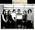 Hillel Club Stands Together, Student Groups, ca. 1966