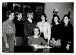 Seven Students and a Spiral Book, Student Groups, ca. early 1960s