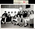 Sixteen Students and a Painting, Class of 1968, ca. 1966