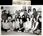 Twenty-Three Students Gathered Together, Class of 1968, ca. 1966