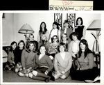 Fifteen Students Gathered toward the Center, Class of 1969, ca. 1966