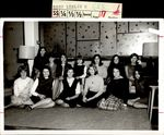 Thirteen Students Around the Couch, Class of 1968, ca. 1966