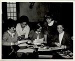 Looking Over the Papers and Photographs, Student Groups, ca. early 1960s