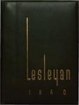 Lesleyan, 1940 by Lesley School